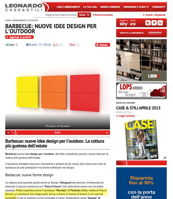 Leonardo TV - casa, arredamento e design