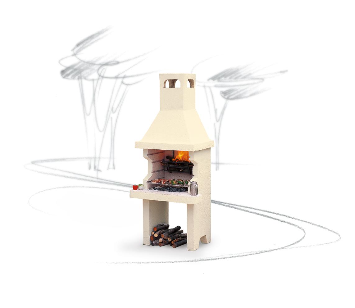 Grill grill da giardino grill forno il focolare la for Termocamini vulcano rivenditori