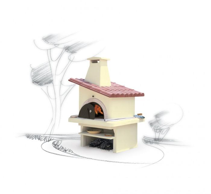 Forno da giardino rivestimento forno giardino il - Forno barbecue muratura esterno ...