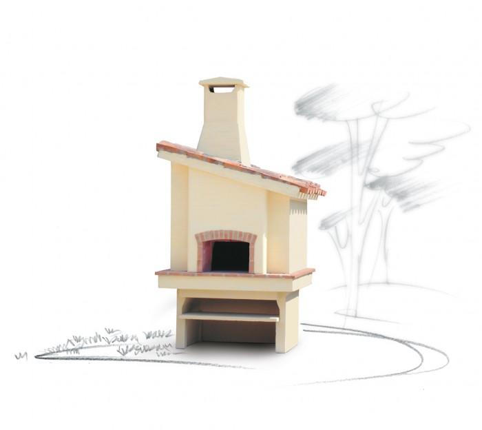 Rivestimento forno esterno forno da esterno il focolare for Termocamini vulcano rivenditori