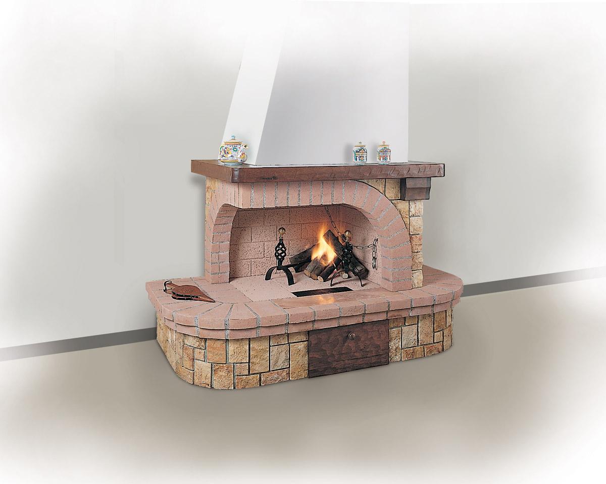 Rivestimenti il focolare la nuova dimensione del fuoco for Caminetti rustici ad angolo
