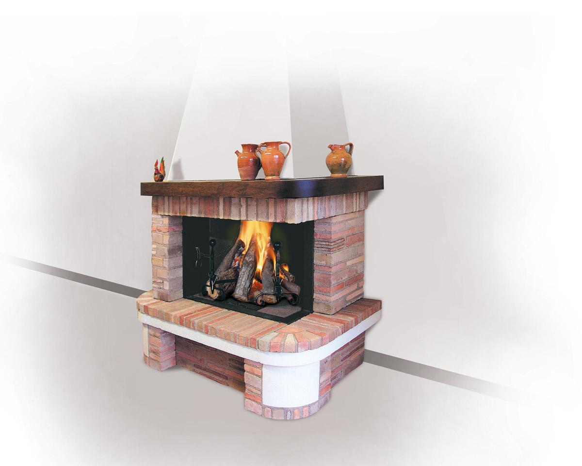 Tavolo soggiorno design for Caminetto ad angolo contemporaneo