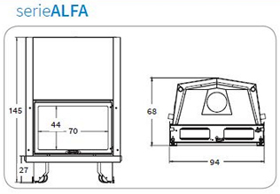 schema progettazione caldaia serie alfa