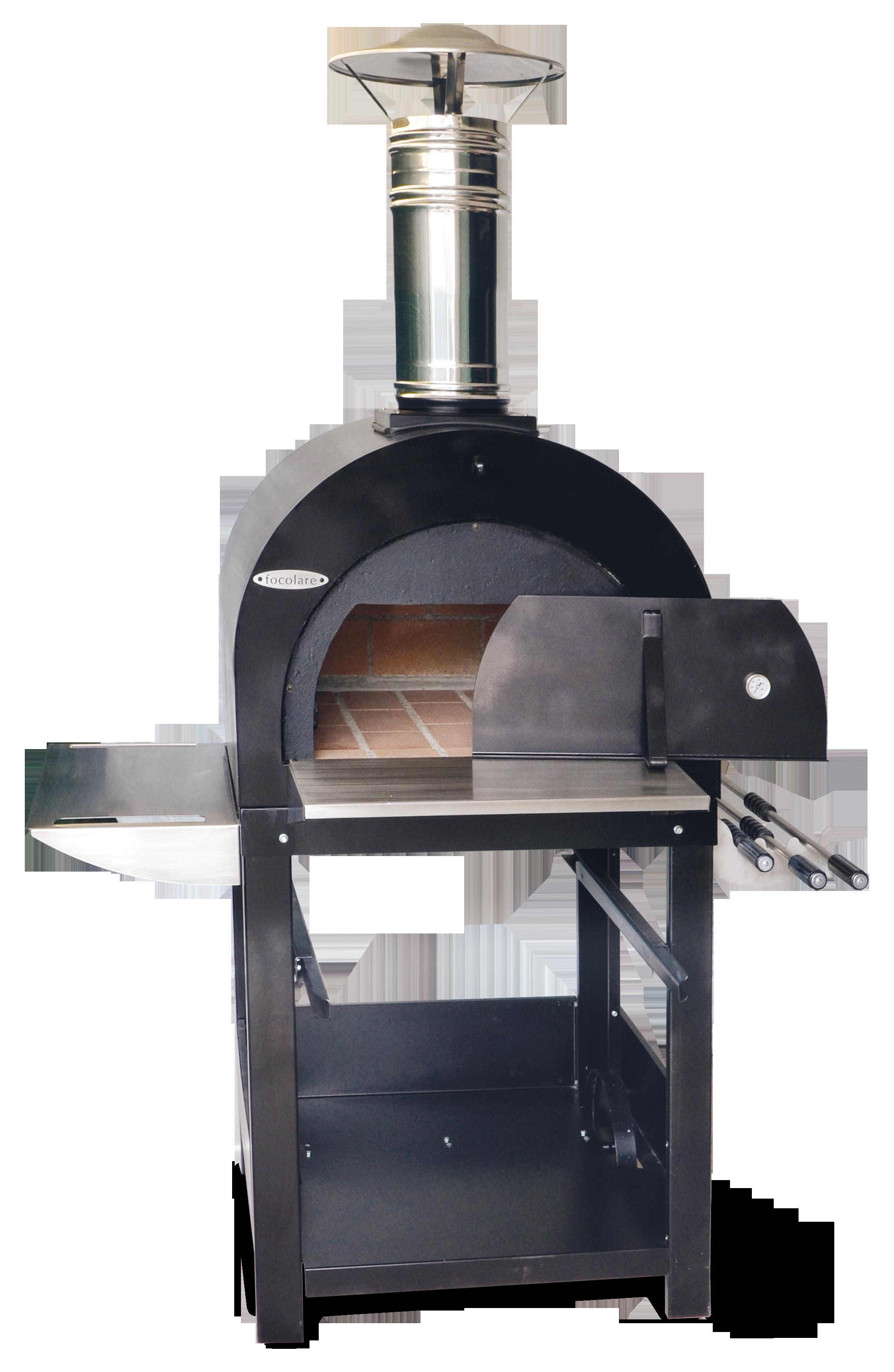 Forno a legna da esterno in mattoni refrattari per 2 o 3 for Mattoni refrattari per forno a legna