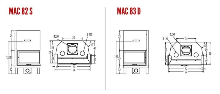 MAC 82S/83D Semiaperto
