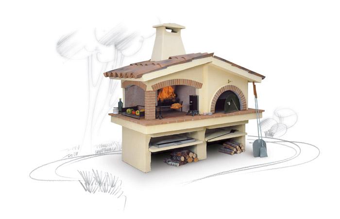 Barbecue grill il focolare la nuova dimensione del fuoco - Barbecue da giardino a legna ...